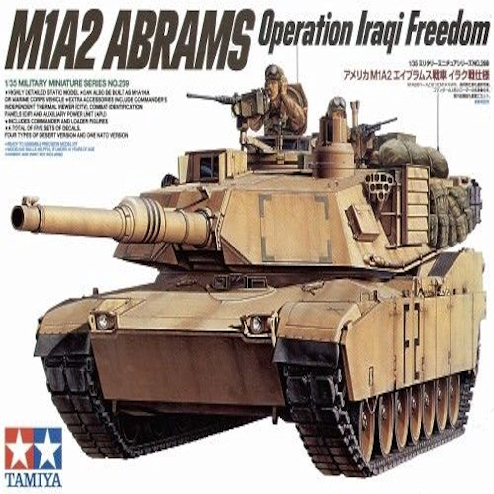 tamiya 1/35-us m1a2 abrams operation iraqi freedom