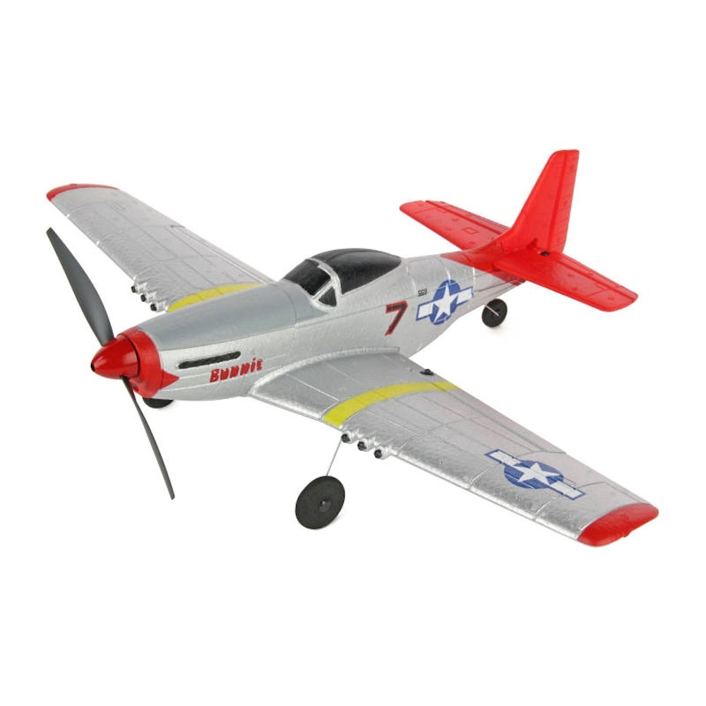 sonik rc p-51 mustang 400 4-channel with flight stabilisation rtf