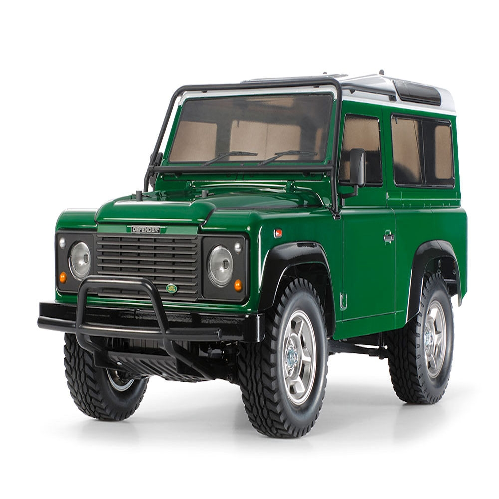 tamiya land rover defender 90 (cc-01 chassis) kit (due end sep)