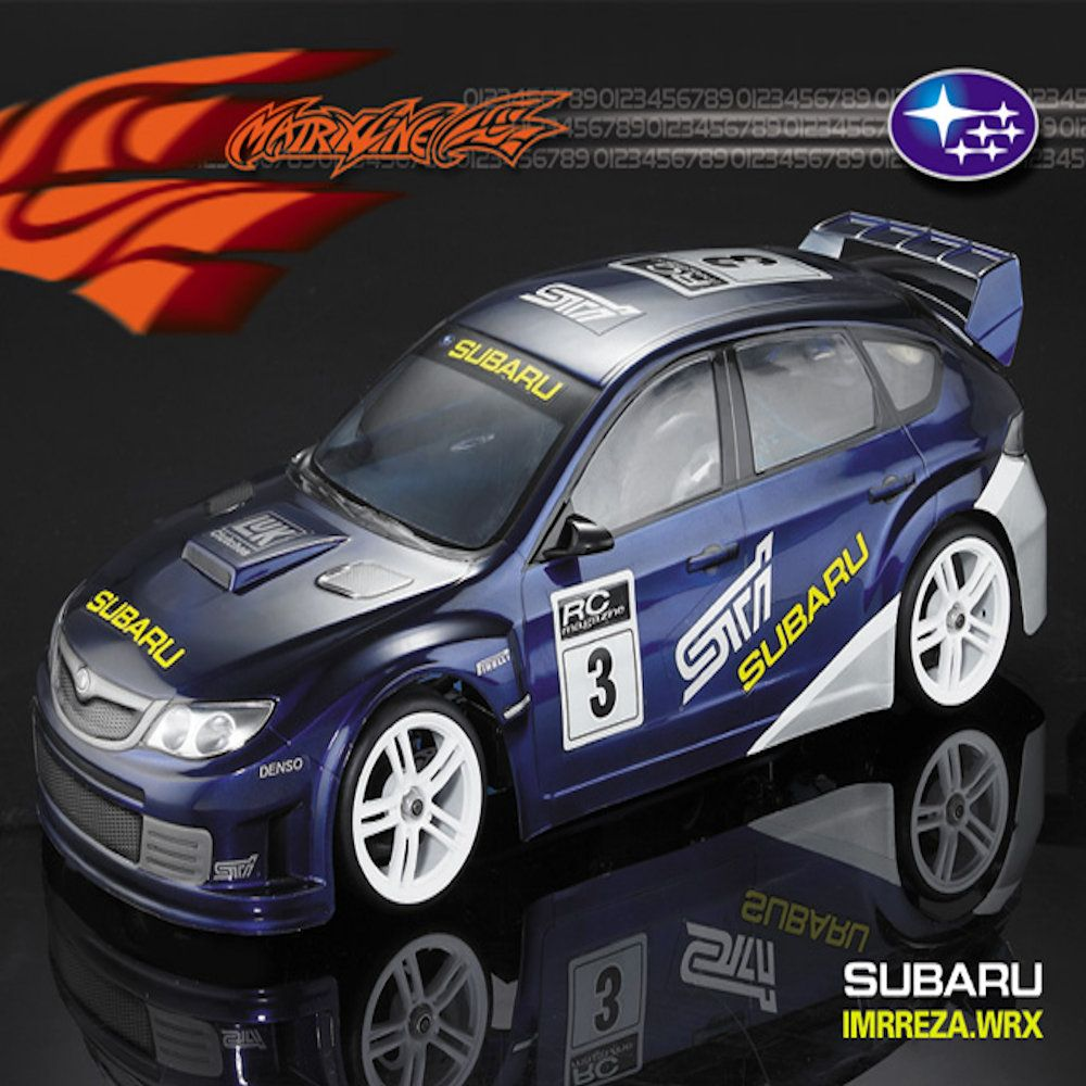 matrixline wrx 190mm lexan bodyshell