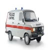 italeri ford transit uk police 1:24