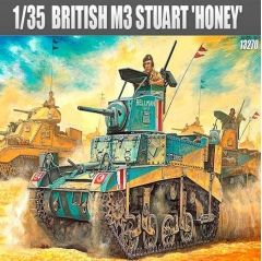 "academy 1:35 - m3 stuart """"honey"""" british version"