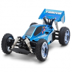 tamiya neo scorcher blue metallic (tt-02b chassis) kit