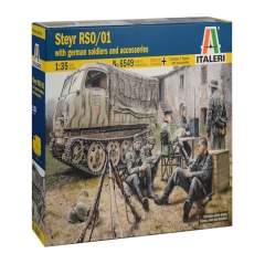 italeri 1:35 - steyr rso/01 with germ. soldiers