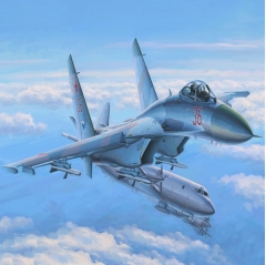 hobbyboss su-27 flanker early 1:48