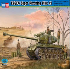 hobbyboss 1:35 - t26e4 super pershing, pilot #1