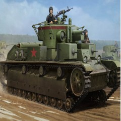 hobbyboss 1:35 - soviet t-28 medium tank (welded)