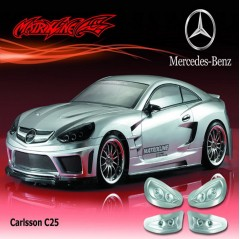 matrixline carlsson c25 190mm lexan bodyshell