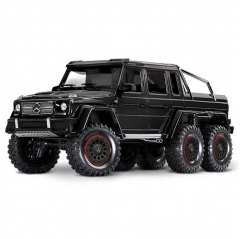 gloss black trx-6 mercedes-benz g 63 amg 1:10 6x6 trail crawler rtd (+ tqi, xl-5 hv, titan 550)