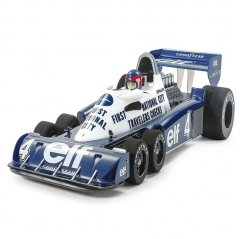tamiya tyrrell p34 six wheeler 1977 monaco gp xb built kit (without r/c system and esc)