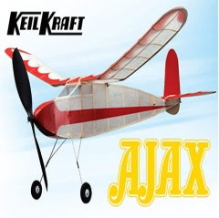 "keil kraft ajax kit - 30"" free-flight rubber duration"