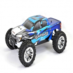 ftx carnage v2 1/10th scale brushed 4wd truggy rtr