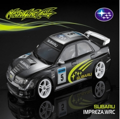 matrixline wrc 190mm lexan bodyshell with accessories