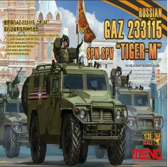 meng model 1:35 - russian gaz tiger-m spn spv
