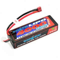 voltz 4000mah 7.4v 50c hardcase shorty lipo battery pack