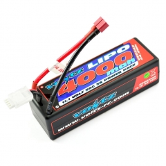 voltz 4000mah 11.1v 50c hardcase shorty lipo battery pack